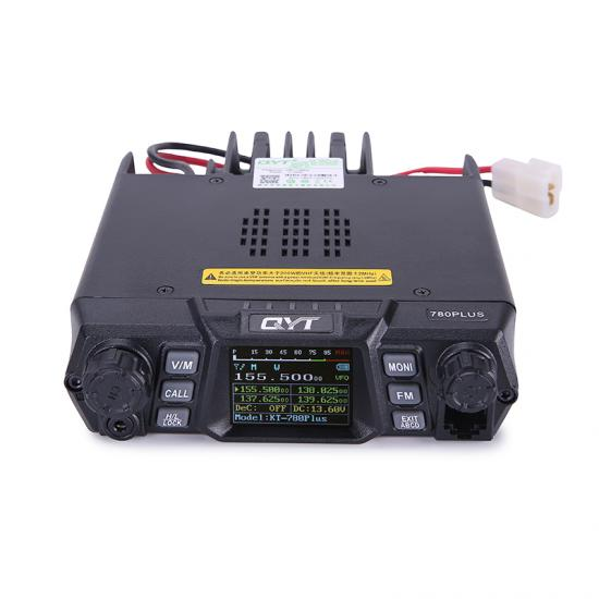 QYT KT-780Plus single band quad display transceiver ham radio