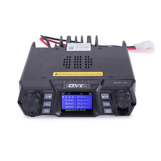 QYT KT-980Plus dual band quad display transceiver ham radio