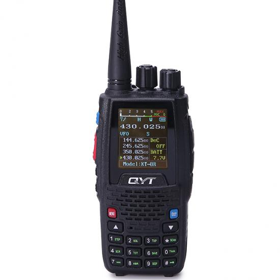 QYT KT-8R quad band handheld ham radio