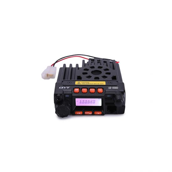 AIR BAND qyt AR 8900 25w 108-135MHz receive long range Dual Band mini mobile radio