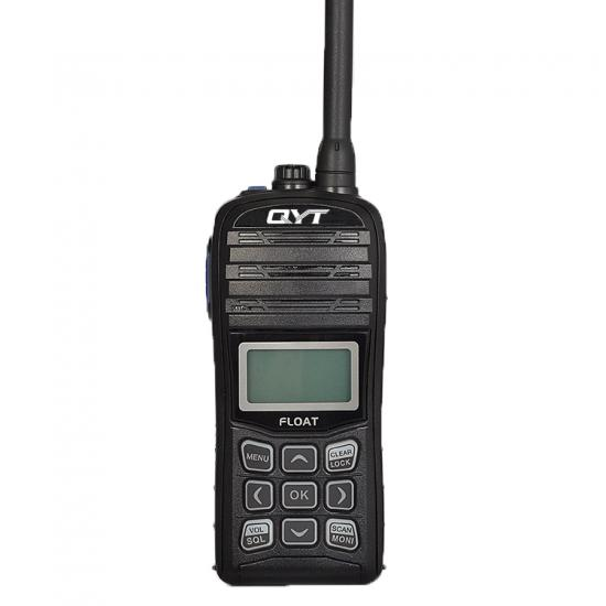 QYT M99 marine type 4w mini walkie talkie with vibration draining and water-proof function