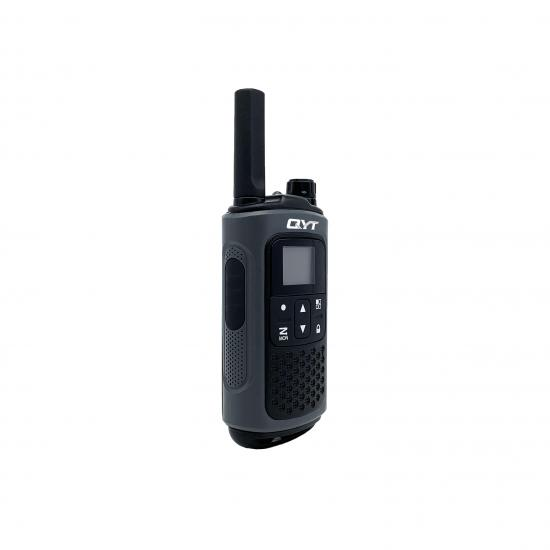 QYT VHF UHF FM Radio 7.4V Analog Mini CTCSS/DCS Walkie Talkie With Company Programming Function Scanning