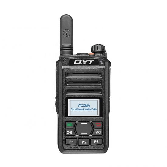QYT Global Network IP POC WCDMA GSM 3G Android Linux GPS WiFi SIM Card 2.5w Walkie Talkie